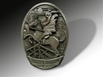 Pewter Sleepy Hollow Magnet