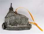 Pewter Old Dutch Church Ornament