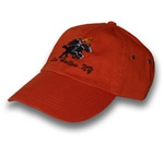 Headless Horseman hat - burnt orange