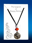 Sleepy Hollow Necklace - Orange Pumpkin Bead