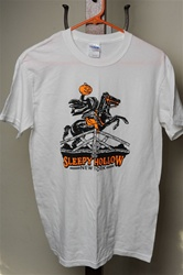 Sleepy Hollow/Headless Horseman White T-Shirt