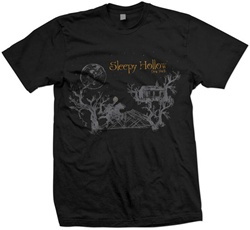 Spooky Hollow T-Shirt, black