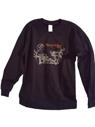 Spooky Hollow T-Shirt, black Long Sleeve