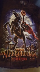 Headless Horseman, Sleepy Hollow NY  T-Shirt, black
