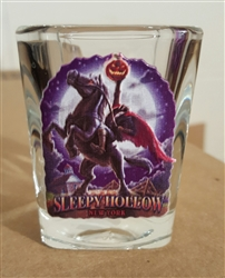 Headless Horseman Shot Glass